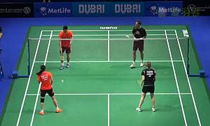刘成/包宜鑫VS尼尔森/佩蒂森 2014世界羽联总决赛 混双半决赛视频