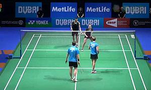 爱德考克/加布里VS福克斯/迈克斯 2014世界羽联总决赛 混双资格赛视频