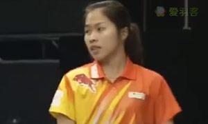 因达农VS孙瑜 2015中国羽超联赛 女单资格赛视频