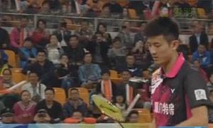 谌龙VS乔斌 2015中国羽超联赛 男单资格赛视频