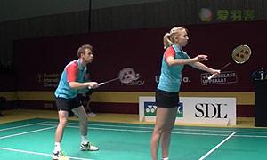 杜尔金/维斯洛娃VS拉巴尔/拉菲尔 2015瑞典大师赛 混双1/8决赛视频