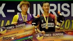 2015马来西亚黄金赛李炫一夺冠 日本女单包冠亚军
