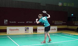 吉尔莫VS瓦兰 2015瑞典大师赛 女单半决赛视频