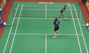 内维尔VS达斯 2015印度黄金赛 女单1/8决赛视频