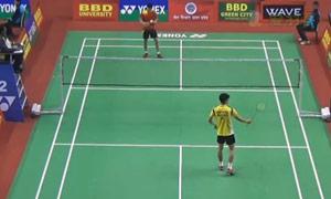 加卢西达VS刘国伦 2015印度黄金赛 男单1/16决赛视频