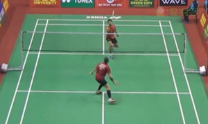 西尔伯曼VS塞尼 2015印度黄金赛 男单1/16决赛视频
