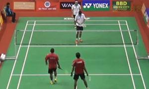 乔普拉/迪瓦卡VS拉朱/拉夫 2015印度黄金赛 男双1/8决赛视频