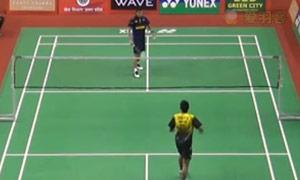 斯里坎特VS埃斯坎达 2015印度黄金赛 男单1/8决赛视频