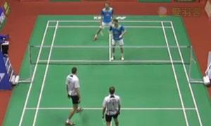 鲍伊/摩根森VS伊万诺夫/索松诺夫 2015印度黄金赛 男双决赛视频