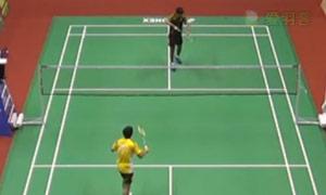 卡什亚普VS斯里坎特 2015印度黄金赛 男单决赛视频