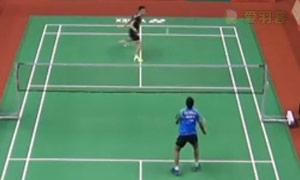 斯里坎特VS张维峰 2015印度黄金赛 男单1/4决赛视频