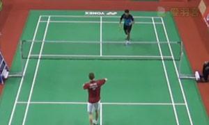 阿萨尔森VS普拉尼斯 2015印度黄金赛 男单1/4决赛明仕亚洲官网
