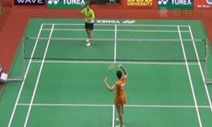 马琳VS磋楚沃 2015印度黄金赛 女单1/4决赛视频