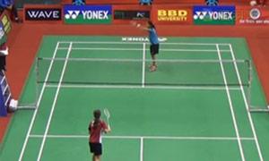妮查恩VS图拉西 2015印度黄金赛 女单1/4决赛视频