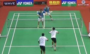 鲍伊/摩根森VS乔普拉/迪瓦卡 2015印度黄金赛 男双半决赛视频