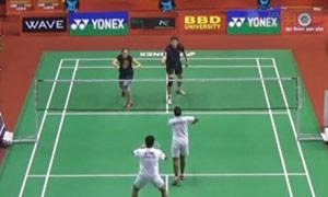 埃特里/马尼莎VS德雷明/迪莫娃 2015印度黄金赛 混双半决赛视频
