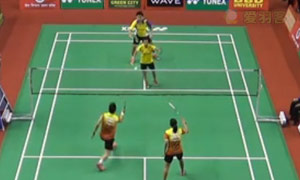 维迪安托/蒂莉VS黄辉颖/邹美君 2015印度黄金赛 混双1/4决赛视频