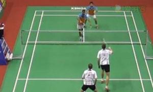伊万诺夫/索松诺夫VS埃特里/雷迪 2015印度黄金赛 男双半决赛视频