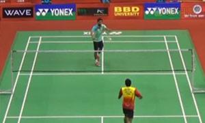 斯里坎特VS普拉诺 2015印度黄金赛 男单半决赛视频