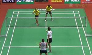 艾米利亚/宋佩珠VS古塔/蓬纳帕 2015印度黄金赛 女双半决赛视频