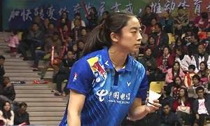 王适娴VS刘思怡 2015中国羽超联赛 女单资格赛视频