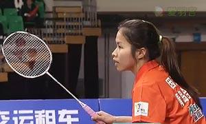 因达农VS姚雪 2015中国羽超联赛 女单资格赛视频