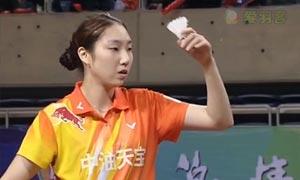 成池铉VS陈卉林 2015中国羽超联赛 女单资格赛视频
