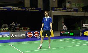埃里克(荷兰)VS罗加尔斯基(波兰) 2015欧洲团体锦标赛 男单资格赛视频