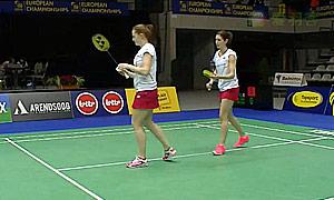 奥利弗/L.史密斯(英格兰)VS博伊尔/雷切尔(爱尔兰) 2015欧洲团体锦标赛 女双资格赛视频