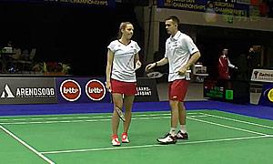 爱德考克/加布里(英格兰)VS阿伦茨/皮克(荷兰) 2015欧洲团体锦标赛 混双1/4决赛视频