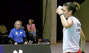 查普曼(英格兰)VS克森尼亚(俄罗斯) 2015欧洲团体锦标赛 女单半决赛视频