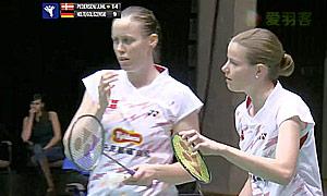 佩蒂森/尤尔(丹麦)VS格里斯威斯基/尼尔特(德国) 2015欧洲团体锦标赛 女双半决赛视频