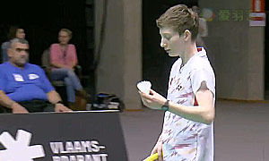 施纳泽(德国)VS马德森(丹麦) 2015欧洲团体锦标赛 女单半决赛视频