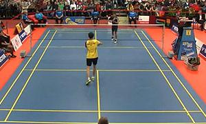 伍家朗VS埃斯坎达 2015奥地利公开赛 男单决赛明仕亚洲官网