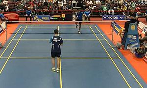 伍家朗VS埃里克 2015奥地利公开赛 男单半决赛视频