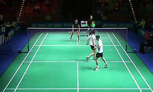 尼克拉斯/蒂格森VS鲁伊特/巴宁 2015德国公开赛 混双1/16决赛视频