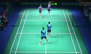 宗空潘/拉温达VS迈克斯/赫特里克 2015德国公开赛 女双1/8决赛视频