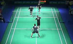 彼德森/科丁VS麦克斯/兹沃涅 2015德国公开赛 男双1/8决赛视频