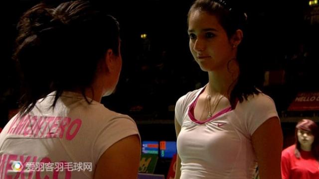 墨西哥美女羽球运动员―辛西娅・冈萨雷斯