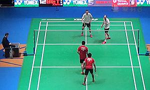 阿山/塞蒂亚万VS埃利斯/米尔斯 2015全英公开赛 男双1/16决赛视频