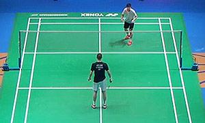 阿萨尔森VS黄永棋 2015全英公开赛 男单1/16决赛明仕亚洲官网