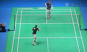 阿萨尔森VS埃文斯 2015全英公开赛 男单1/8决赛明仕亚洲官网