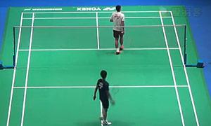 周天成VS上田拓马 2015全英公开赛 男单1/8决赛视频