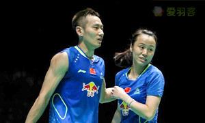 张楠/赵芸蕾VS艾哈迈德/纳西尔 2015全英公开赛 混双决赛视频