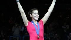 欧洲铁娘子接班人 马琳获全英赛女单冠军