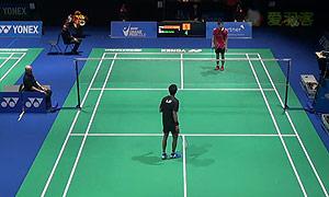 贾亚拉姆VS王子维 2015瑞士公开赛 男单1/8决赛视频