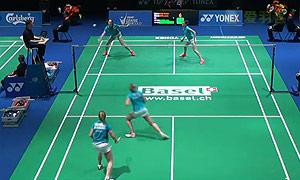 穆斯肯斯/皮克VS奥利弗/L.史密斯 2015瑞士公开赛 女双1/8决赛视频