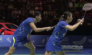 鲁恺/黄雅琼VS诺瓦/蒂莉 2015瑞士公开赛 混双半决赛视频