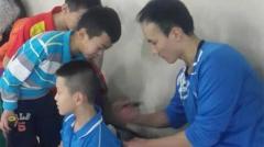 杜鹏宇退役后关注羽球教育 自建培训基地