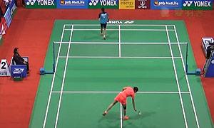 姚雪VS图拉西 2015印度公开赛 女单1/16决赛视频